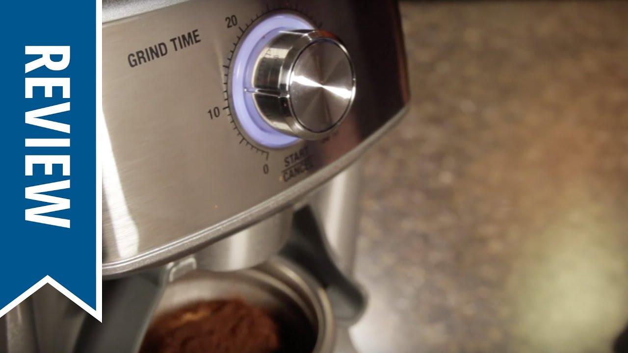 Breville BCG600SIL Macinacaffè il Dose Control 110 Volt Pro