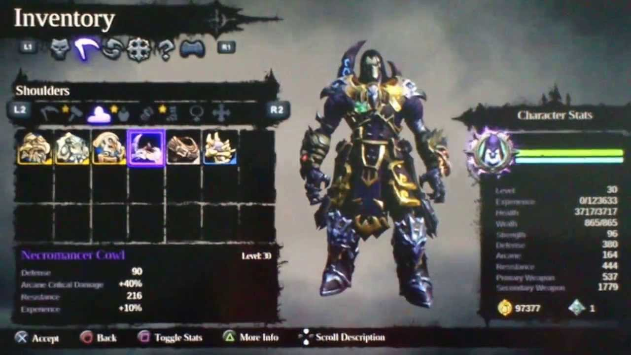 Darksiders  Arcane Build