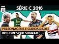 Série C: melhores histórias dos 4 times campeões de 2018 | UD LISTAS