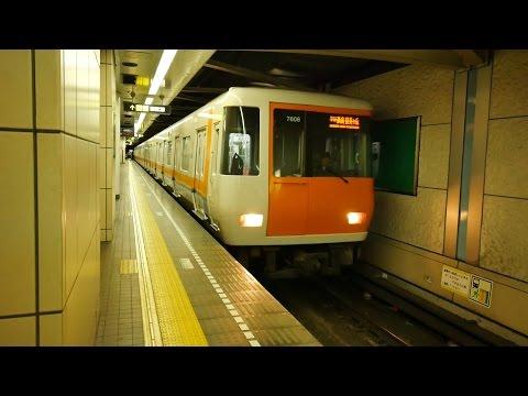大阪市営地下鉄中央線・近鉄けいはんな線 (7000系運行) 超広角車窓 進行左側 コスモスクエア~学研奈良登美ヶ丘