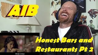AIB Honest Bars and Restaurants Part 2 -Reaction