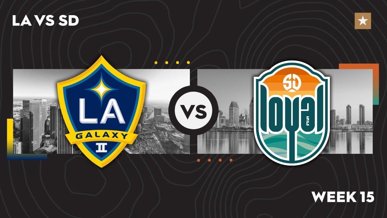 LA Galaxy II vs. San Diego Loyal SC: August 1, 2021