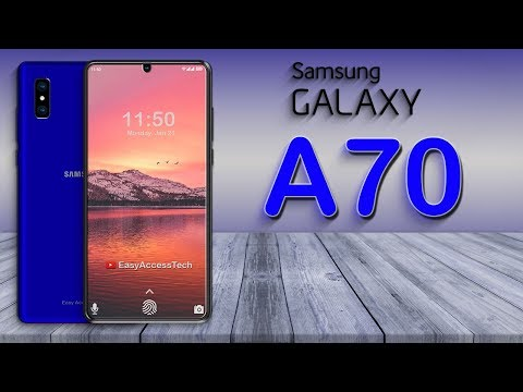 Samsung Galaxy A70 (2019) - First Look, Infinite Display, 6GB RAM, Specification, CONCEPTS!