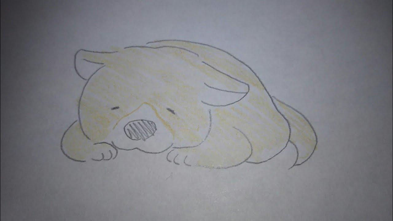 簡単 犬の絵書き方 簡単おえかき Youtube