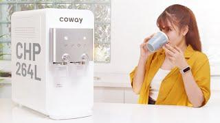 Đánh giá máy lọc nước Coway CHP-264L: tiêu chuẩn quốc tế, 3 chế độ, khóa nước nóng an toàn