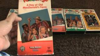 5 Different VHS Versions Of Kidsongs: A Day At Old McDonald's Farm (1985)