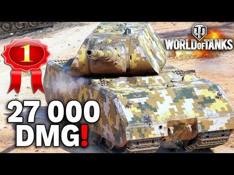 27 000 ZABLOKOWANYCH USZKODZEŃ - World of Tanks