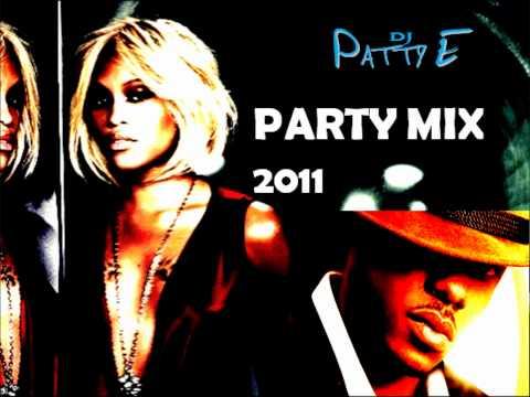 R&B, HipHop & House ClubParty Mix 1  2011 DJ Patty E