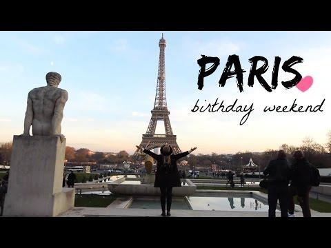 TRAVEL DIARY: PARIS 25TH BIRTHDAY WEEKEND!