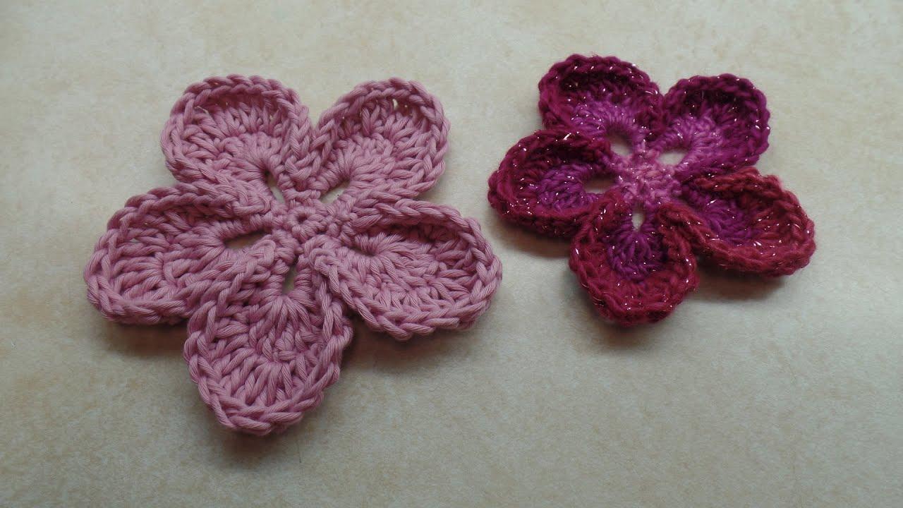 Crochet how to crochet easy 5 petal flower tutorial 315 learn crochet how to crochet easy 5 petal flower tutorial 315 learn crochet youtube dt1010fo
