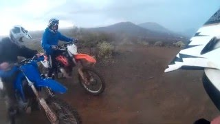 Cop Does Donut! Angry People Call the Cops on Dirt bikes