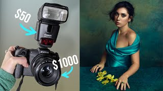 On-Camera Flash with Budget Gear for Stunning Portraits, Behind The Scenes