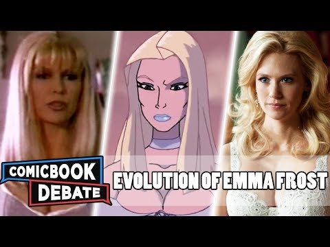 Evolution Of Emma Frost In Cartoons, Movies & TV In 6 Minutes (2019)