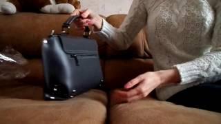 Итальянская кожаная сумка Cristina - распаковка и обзор(, 2016-12-02T12:47:36.000Z)