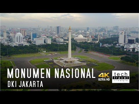 [4K] Monumen Nasional Jakarta - Monas