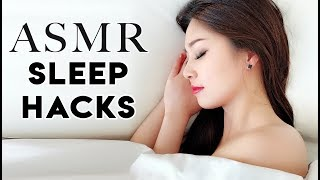[ASMR] Fall Asleep Fast! 10 Powerful Sleep Hacks