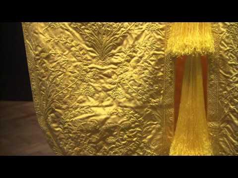 Golden Spider Silk - The V&A