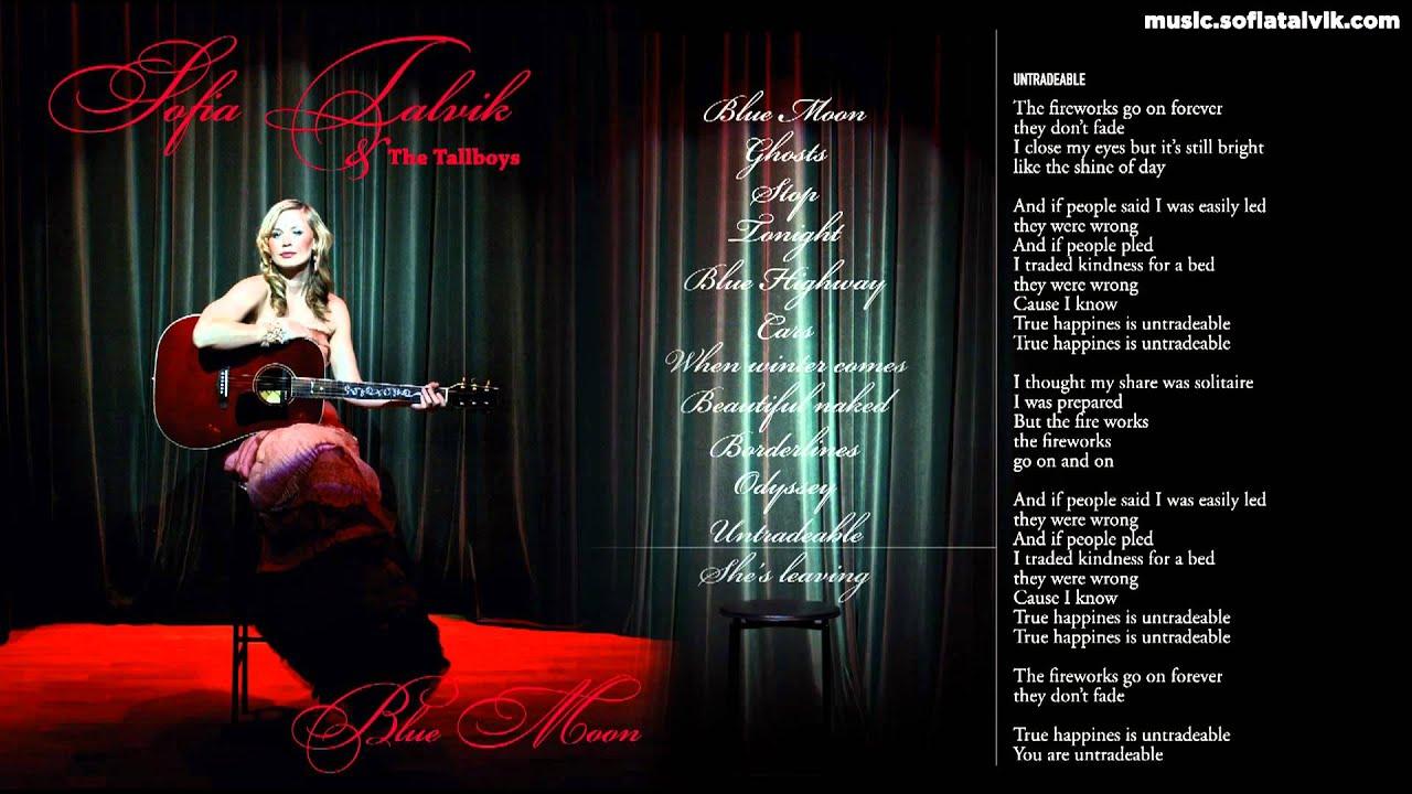 Download Sofia Talvik - 11. Untradeable - Blue Moon (YouTube Album)