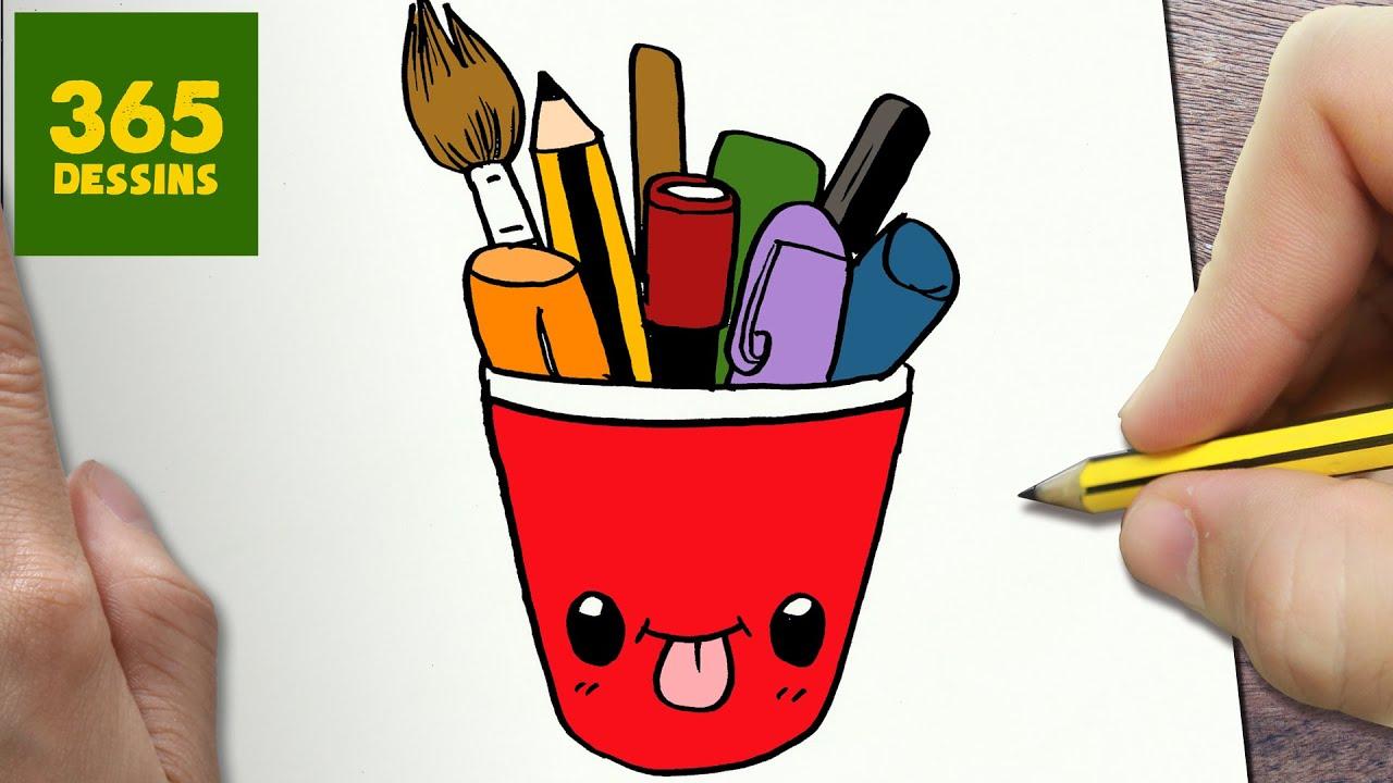 comment dessiner crayons kawaii tape par tape dessins kawaii facile youtube. Black Bedroom Furniture Sets. Home Design Ideas