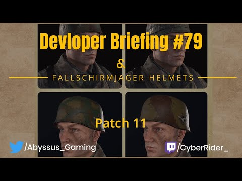 Hell Let Loose Dev Briefing #79{New Helmets] |