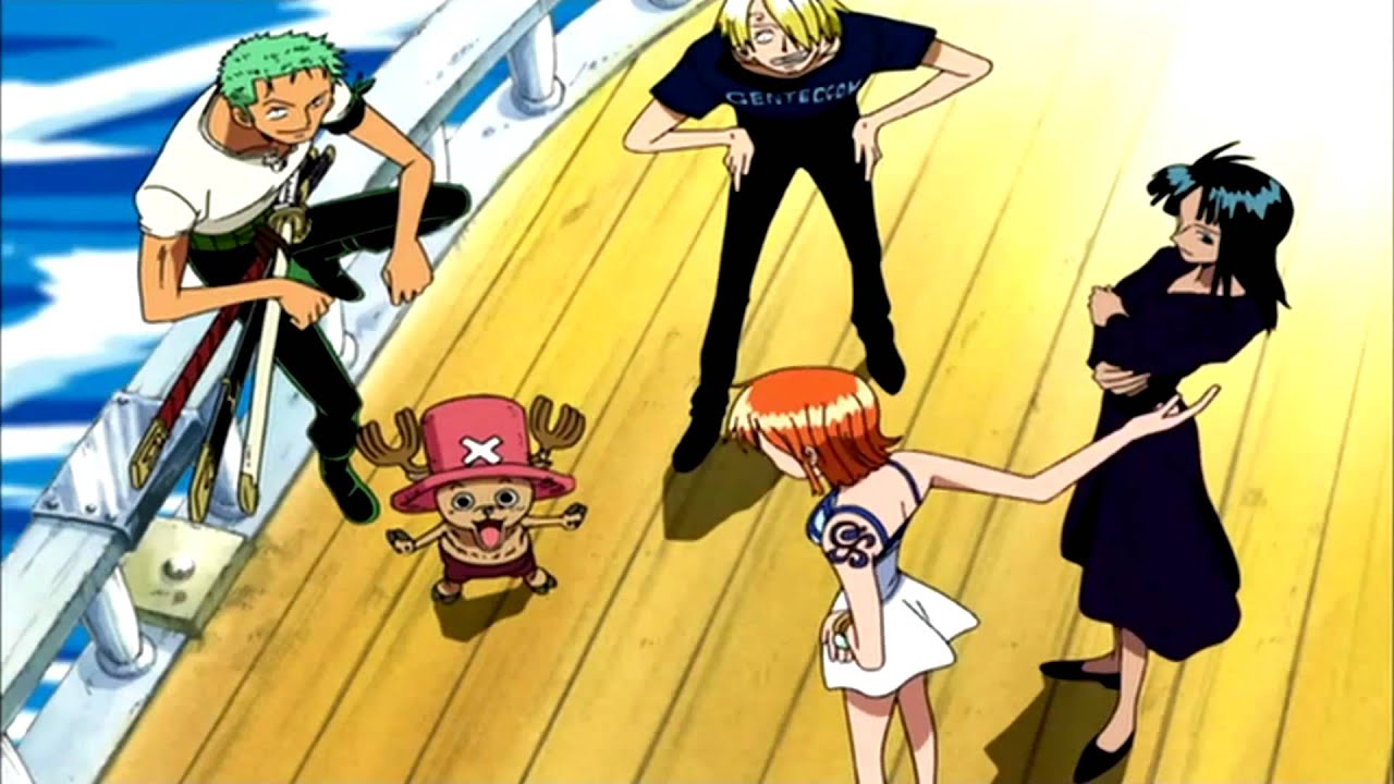 One Piece - Opening 5 [No Credits][1080p] - YouTube