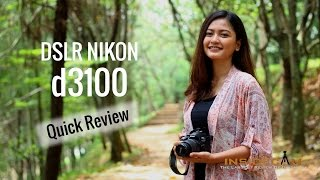 DSLR Nikon D3100 - Review Indonesia