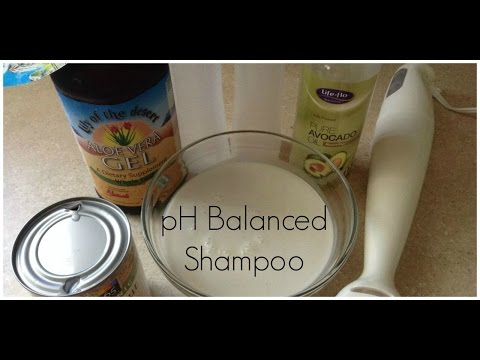 Scalp DIY pH Balancing Natural Shampoo