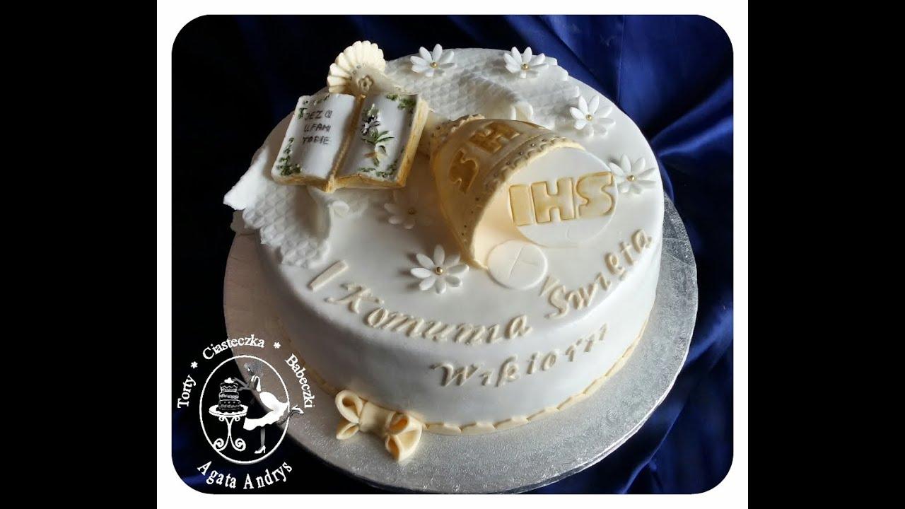 Holy Communion Cakes Ideas