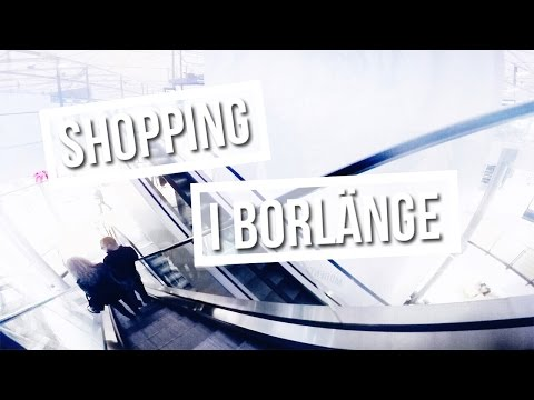 VLOGG ♡ shopping i Borlänge