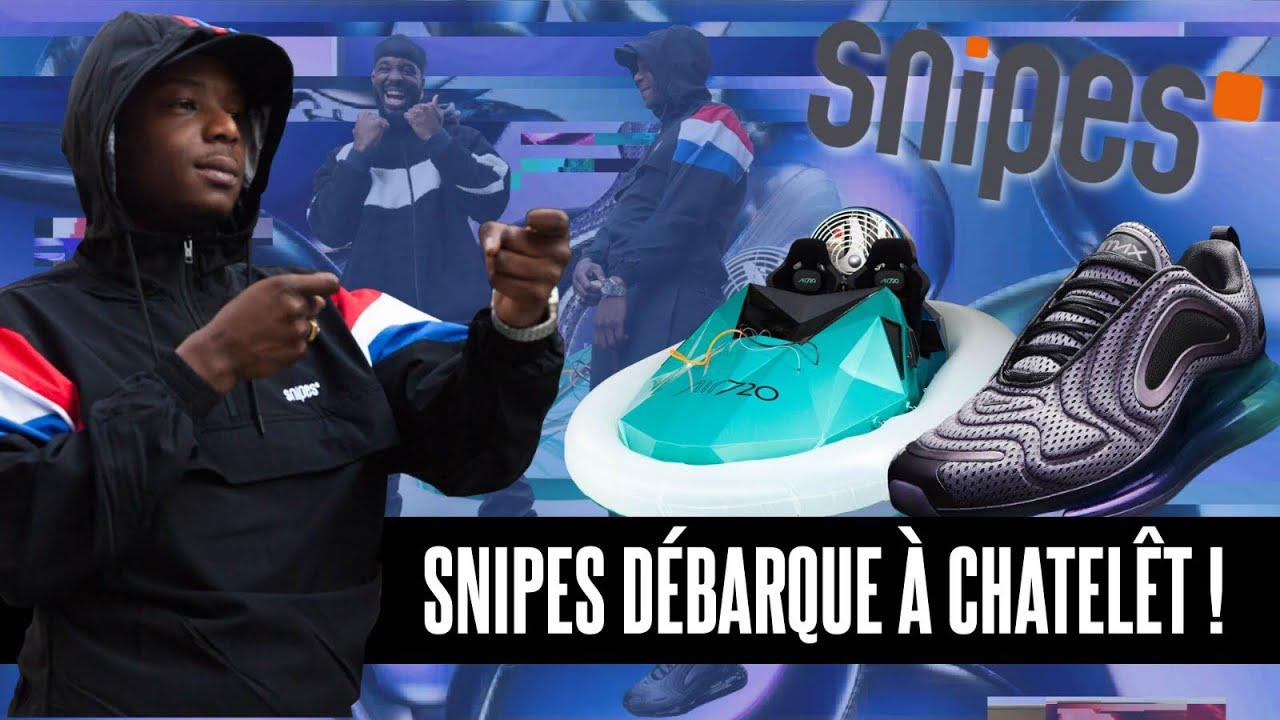 SNIPES DEBARQUE SUR PARIS W NINHO EN AIR MAX 720 ☁️ !