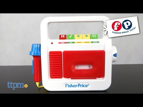 Fisher Price Classic Toys Play Tape Recorder from Basic Fun