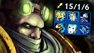this game became too easy the second they buffed singed