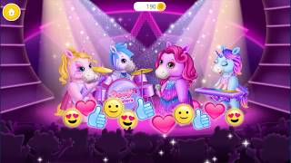 Pony Sisters Pop Music Band - Play, Sing & Design - Gameplay Android