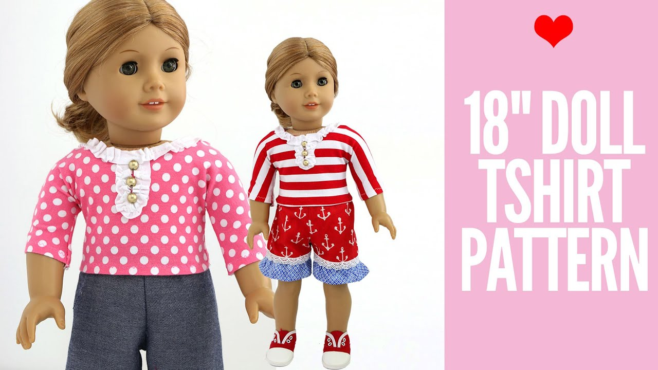 image about Free Printable Doll Clothes Patterns for 18 Inch Dolls known as Doll Apparel Models - Totally free 18\
