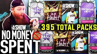 MASSIVE PACK OPENING I saved all my 6th inning program packs! MLB The Show 21