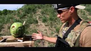 Breaching Round & Sabot Slug Shotgun Test on Watermelon