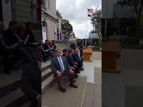 Hackensack Veterans Memorial addition remembering the marines at the Beirut barracks.-3