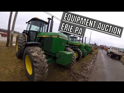 Equipment Auction Erie PA