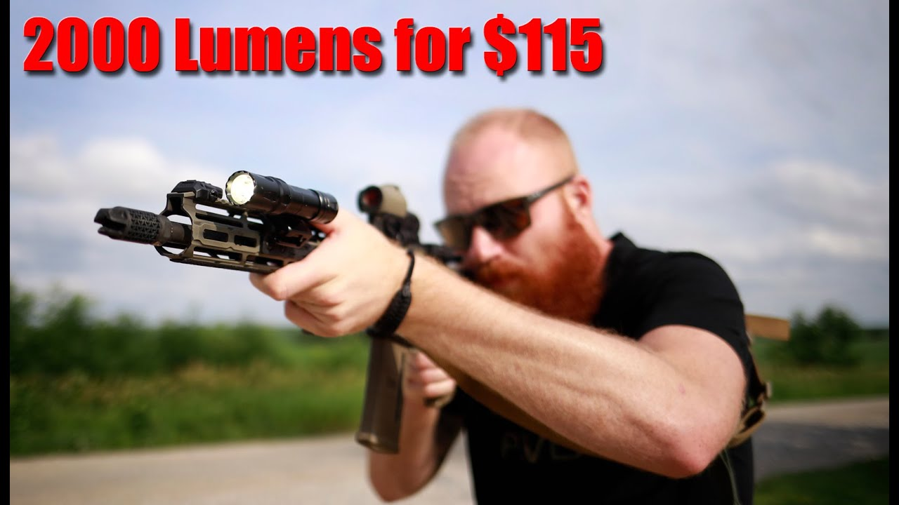 Olight Odin 2000 Lumen Weapon Light: 2000 Round Review & Flash Sale