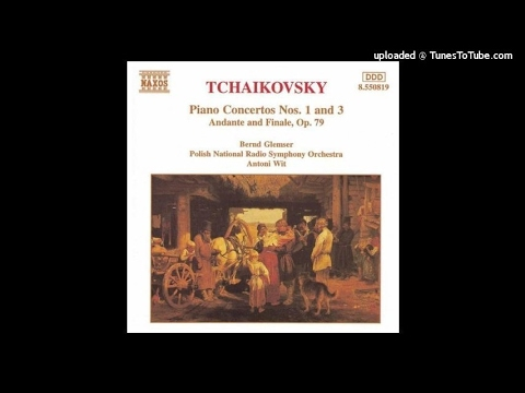 Tchaikovsky completed Sergei Taneyev : Andante and Finale for piano and orchestra Op. 79 (1892-93)