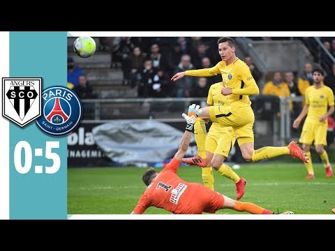 Angers SCO - Paris St. Germain 0:5 / Draxler trifft mit viel Gefühl, Cavani & Mbappé mit Doppelpack