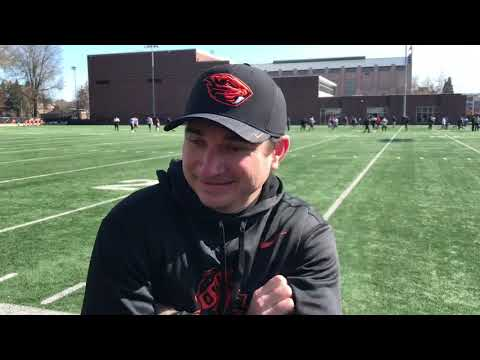 Oregon State Beavers - Jonathan Smith talks Beaver Spring Football!