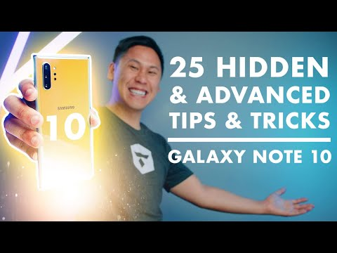 """TOP 25 SAMSUNG GALAXY NOTE 10 & NOTE 10+ TIPS - HIDDEN & """"ADVANCED FEATURES"""""""