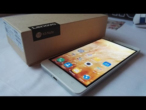 "Lenovo Vibe K5 Note Full Review 32GB 5.5""(A7020) - A better phone for 140$"
