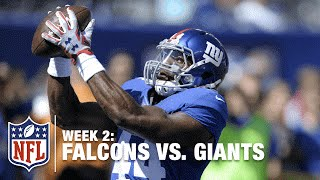 New York Giants RB Andre Williams Breaks Off a 35-Yard Run | Falcons vs. Giants | NFL