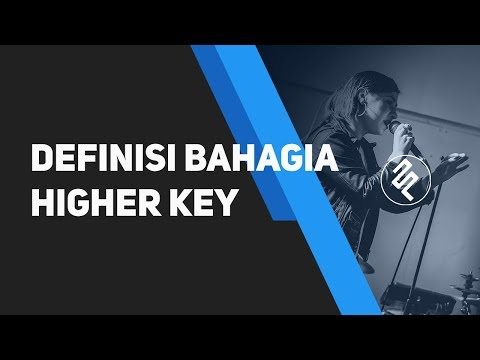 Vidi Aldiano - Defenisi Bahagia Instrumental Piano Karaoke / Higher Key / Chord / Lirik
