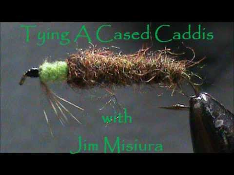 Fly Tying A Cased Caddis Larva With Jim Misiura Youtube