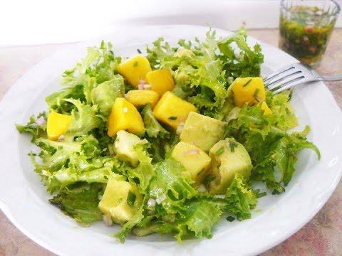 como preparar ensalada de verduras a la vinagreta