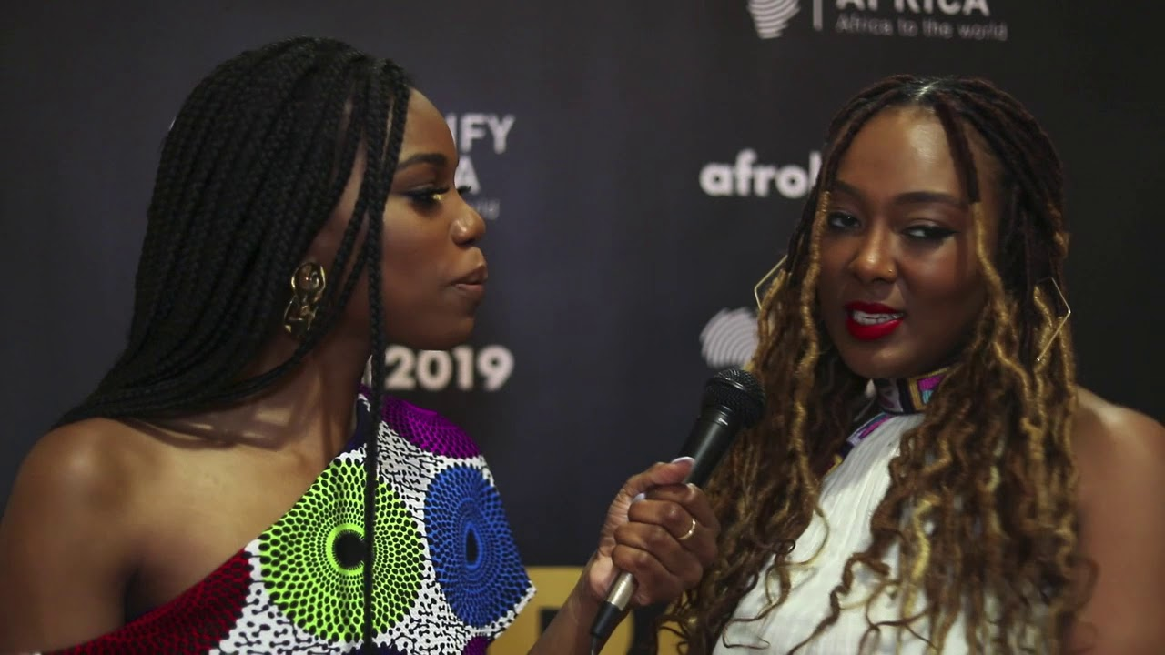 2019 Afro Ball Honoree Lilly Workneh chats with host Stacy Ike