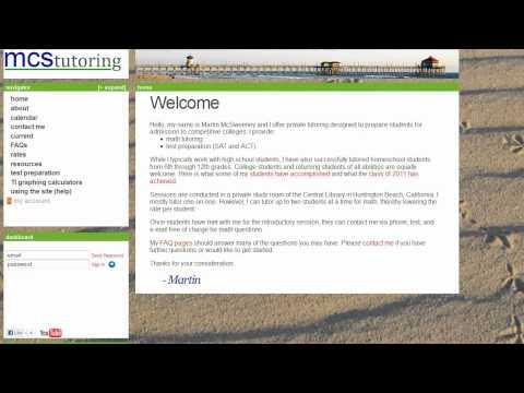 ACT Preparation Prep Tutor Tutoring Newport Beach Huntington Beach Long Beach